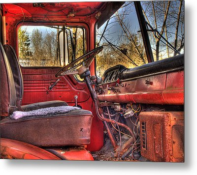 Weathered And Worn  Metal Print by Thomas Young