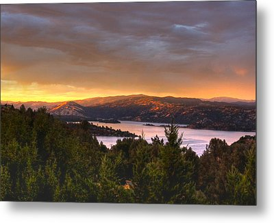 Wednesday Evening Sunset Metal Print by Kandy Hurley