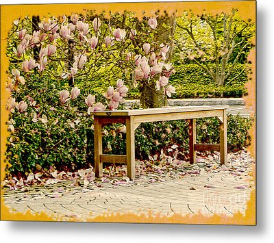 Welcome Spring Metal Print by Carol F Austin
