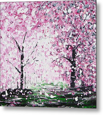 Welcome Spring Metal Print by Kume Bryant