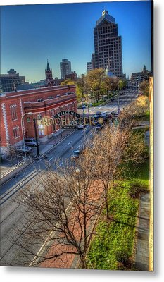 Welcome To Rochester Metal Print by Tim Buisman
