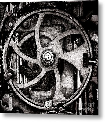 Welcome To The Machine Metal Print by Olivier Le Queinec