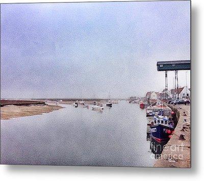 Wells Next The Sea Norfolk Uk Metal Print by John Edwards