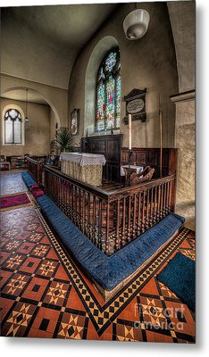Welsh Chapel Metal Print by Adrian Evans