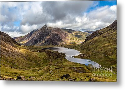 Welsh Mountains Metal Print by Adrian Evans