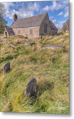 Welsh Tombs Metal Print by Adrian Evans