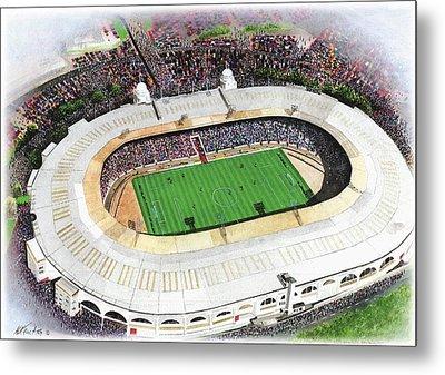 Wembley Stadium Metal Print by Kevin Fletcher
