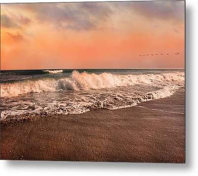 We're Having The Tide Of Our Lives Metal Print by Betsy C Knapp