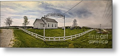 West Liberty Cemetery Metal Print by Gregory Dyer
