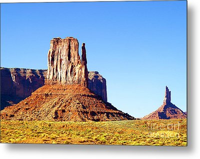West Mitten - Monument Valley Metal Print by Douglas Taylor