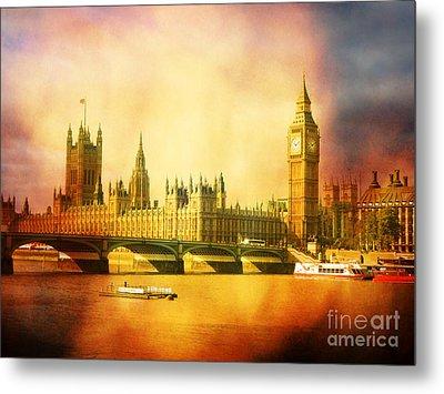 Westminster 2 Metal Print by Heidi Hermes