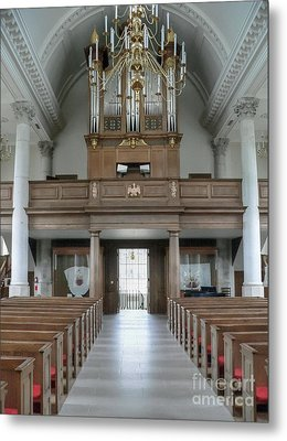 Westminster College Chapel Metal Print by David Bearden
