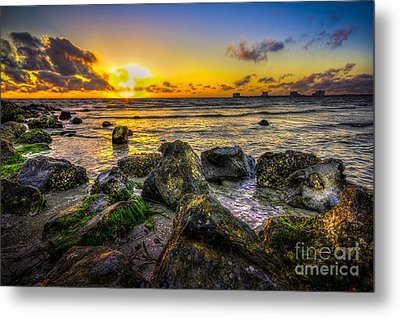 What A Day Metal Print by Marvin Spates