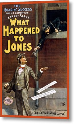What Happened To Jones Metal Print by Aged Pixel