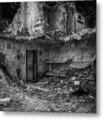 What Was Once A Prison  Metal Print by Bob Orsillo