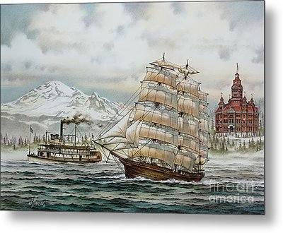 Whatcom Heritage Metal Print by James Williamson