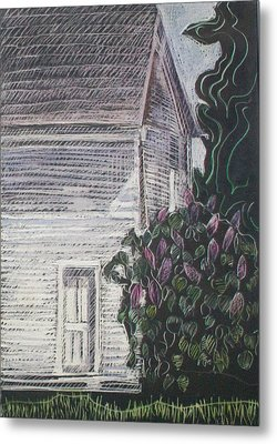When Lilacs Last... Metal Print by Grace Keown