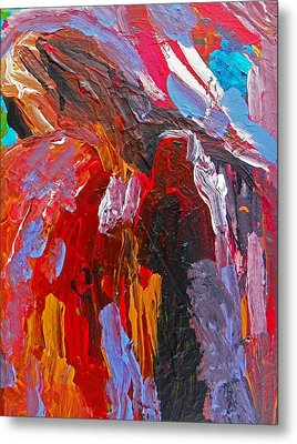 When You Least Expect Me Metal Print by Judith Redman