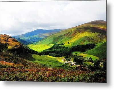 Where Is Soul Flying. Wicklow Mountains. Ireland Metal Print by Jenny Rainbow