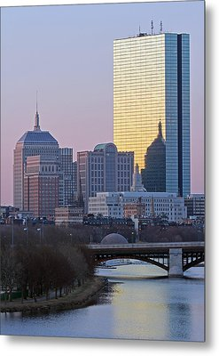 Where Old And New Meet Metal Print by Juergen Roth