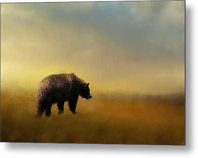Where The Grizzly Roams Metal Print by Jai Johnson