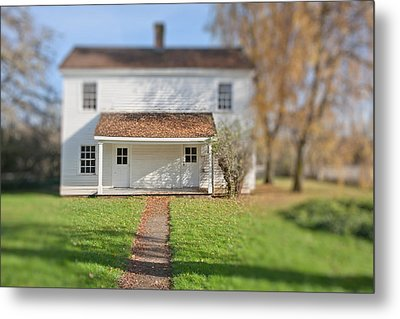 Where The Heart Is Metal Print by Bonnie Bruno