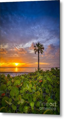 Where The Heart Is Metal Print by Marvin Spates