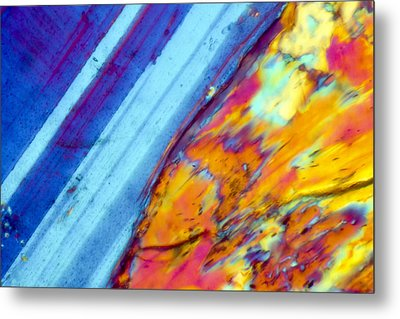 Where The Lava Meets The Ocean Metal Print by Tom Phillips