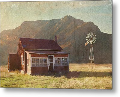 Where Time May Forget Me Metal Print by Brett Pfister