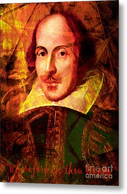 Wherefore Are Thou Romeo 20140122 Metal Print by Wingsdomain Art and Photography