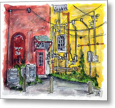 Which Wire Goes Where? Metal Print by Tim Ross