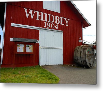 Whidbey's Greenbank Farm Metal Print by Kay Gilley