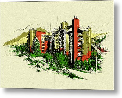 Whistler Art 004 Metal Print by Catf