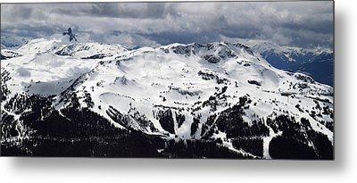 Whistler Mountain View From Blackcomb Metal Print by Pierre Leclerc Photography