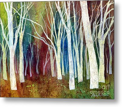 White Forest I Metal Print by Hailey E Herrera