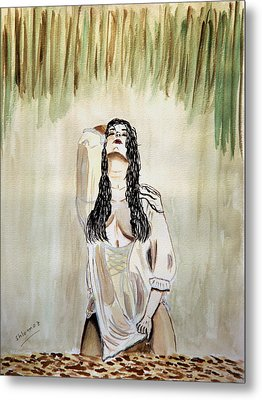 White Passion Metal Print by Shlomo Zangilevitch
