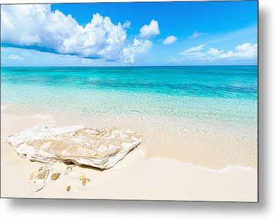White Sand Metal Print by Chad Dutson