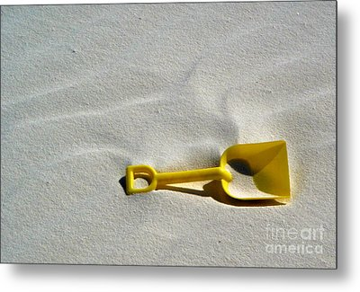 White Sands New Mexico Sand Boz Metal Print by Gregory Dyer
