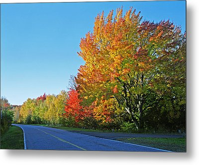 Whitefish Bay Scenic Byway Metal Print by James Rasmusson