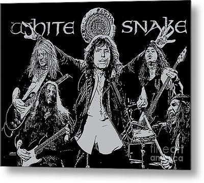 Whitesnake No.01 Metal Print by Unknow