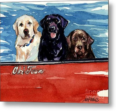 Whole Crew Metal Print by Molly Poole