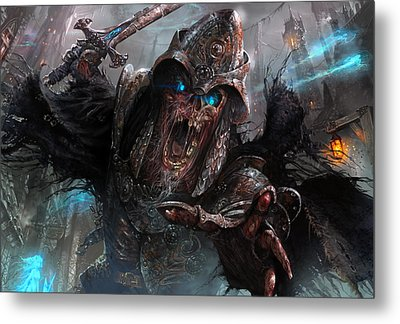 Wight Of Precinct Six Metal Print by Ryan Barger