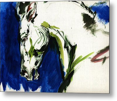 Wild Horse Metal Print by Angel  Tarantella