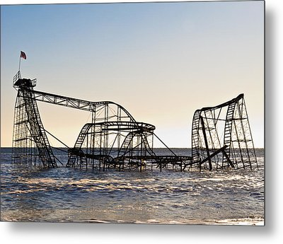 Wild Ride Metal Print by Michael Attanasio
