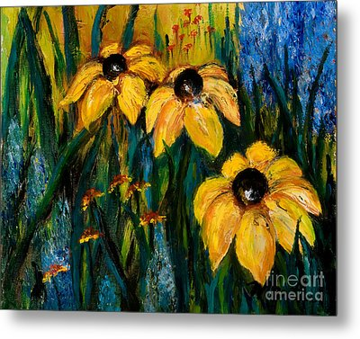 Wildflowers Metal Print by Larry Martin
