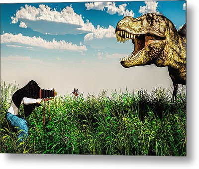 Wildlife Photographer  Metal Print by Bob Orsillo