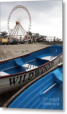 Wildwood Metal Print by John Rizzuto