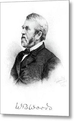 William Burnham Woods (1824-1887) Metal Print by Granger