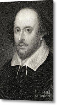 William Shakespeare Metal Print by English School