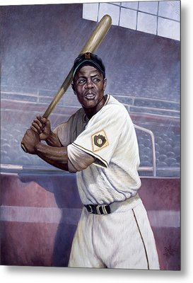 Willie Mays Metal Print by Gregory Perillo